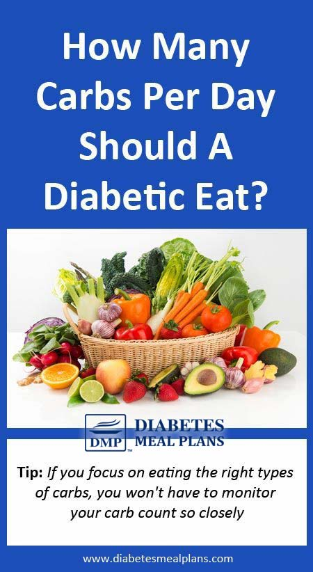 How Many Carbs Per Day For A Diabetic?