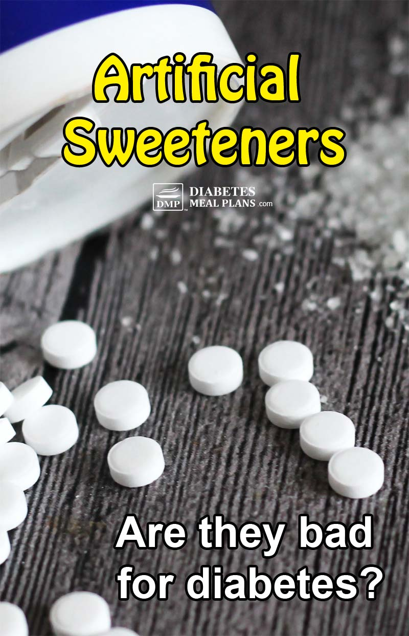 Artificial sweeteners and diabetes