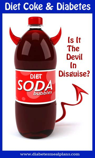 Diet coke, diet soda and diabetes