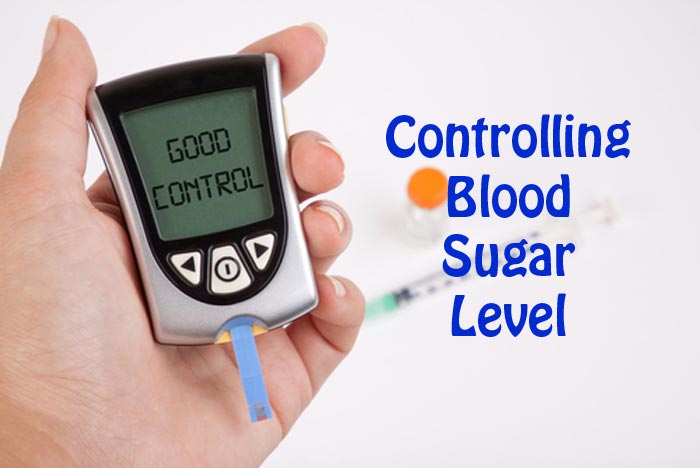Controlling blood sugar levels