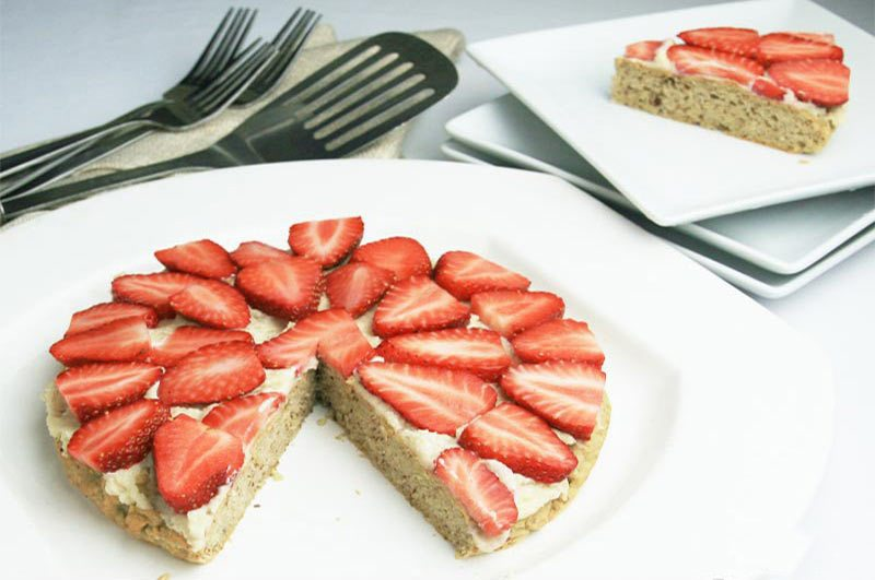 STrawberry Almond Cake | Diabetes Meal Plans