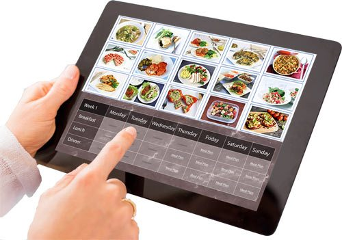 Meal Plans Tablet