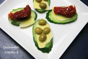 Cucumber-Crackers