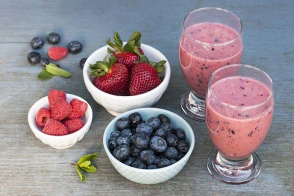 Low carb Diabetic Breakfast Smoothie