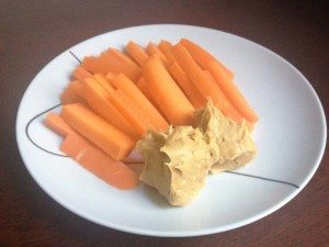 carrot-sticks-peanut-butter