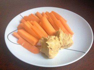carrot-sticks-peanut-butter