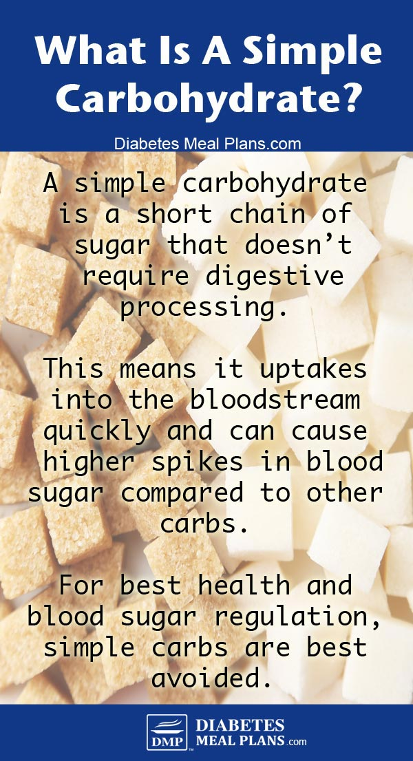 What is a simple carb?