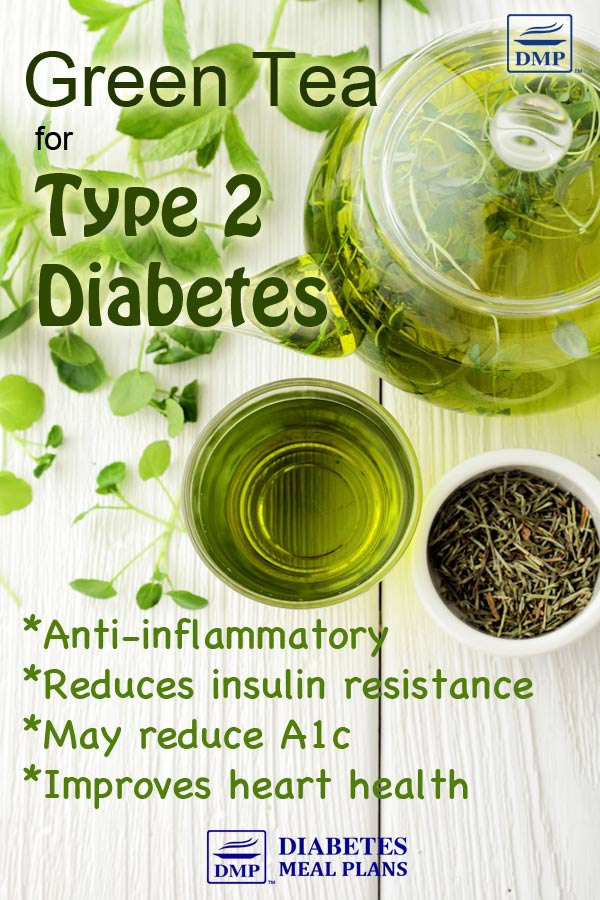 Benefits of green tea for type 2 diabetes