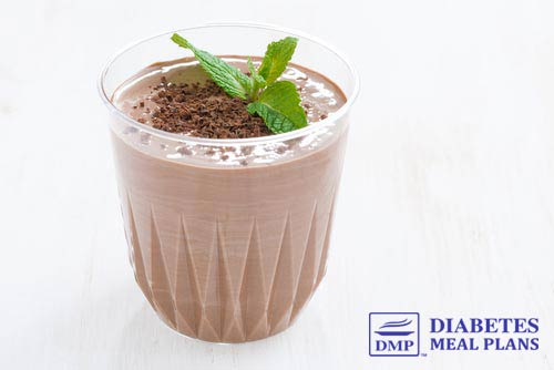 Low Carb Diabetic Chocolate Milkshake