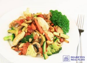 Chicken Cashew Veggie Stir Fry
