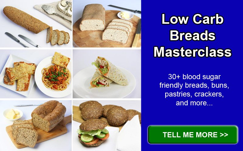 Low Carb Breads Masterclass Banner