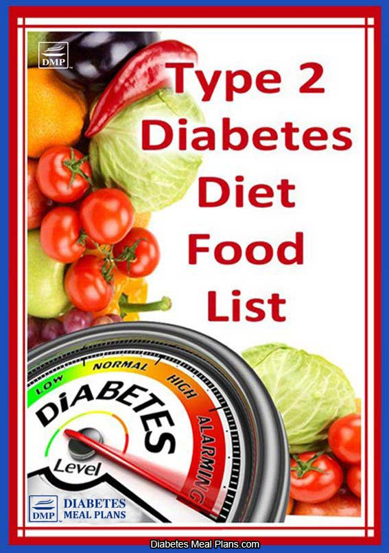 T2 Diabetic Diet Food List [Printable]