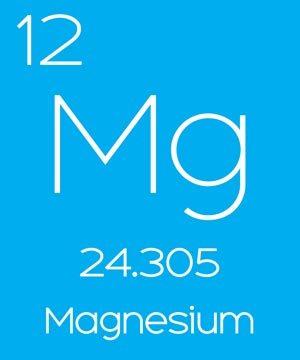 Elemental magnesium