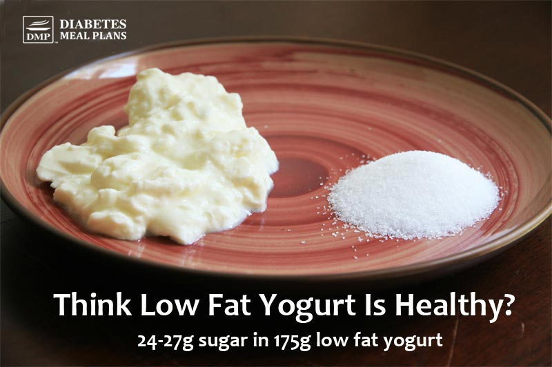 how to eat a low fat low sugar diet