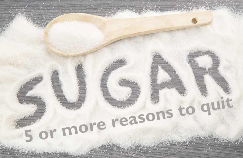 Sugar: 5 or more reasons to quit
