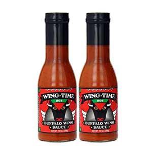 Wing time buffulo sauce