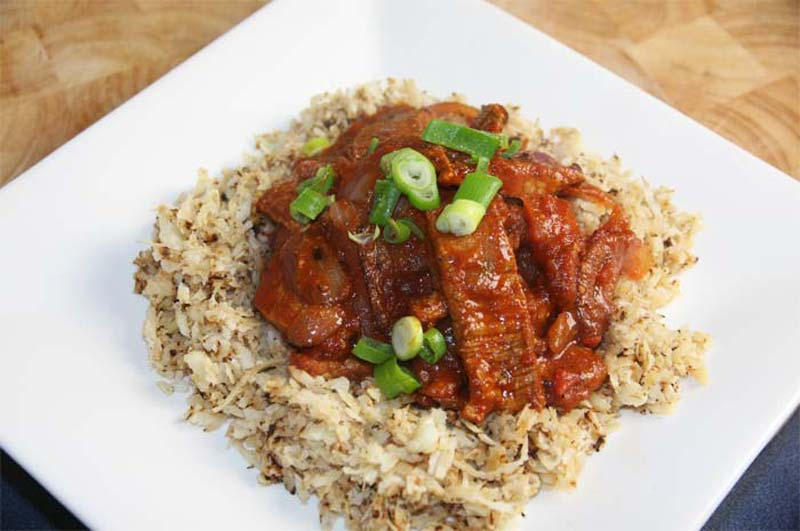 Beef Goulash with Cauliflower Rice | Diabetes Meal Plans