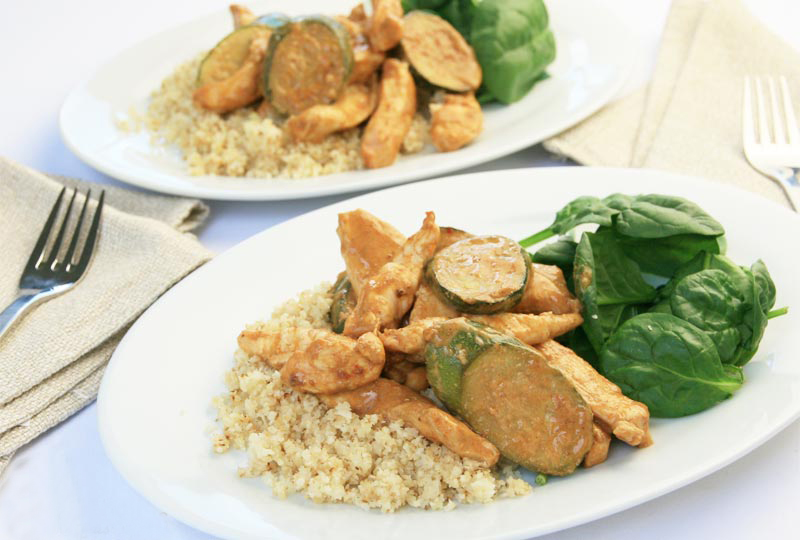 Chicken Massaman Curry: Diabetes Meal Plans