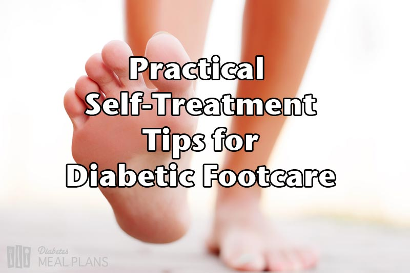 Tips for diabetes foot treatment