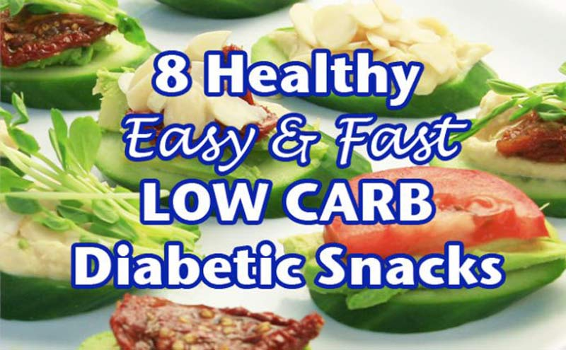 8 Easy Best Snacks for Diabetics