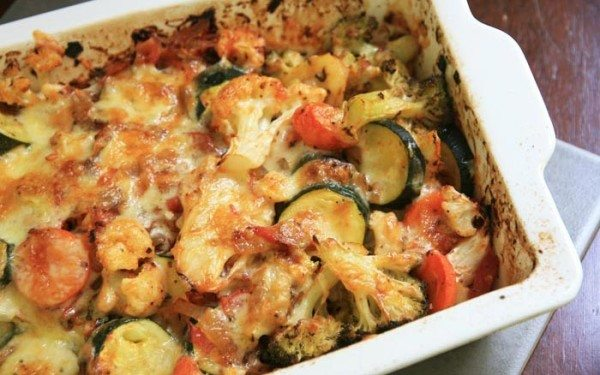 Diabetic Low Carb Vegetable Bake