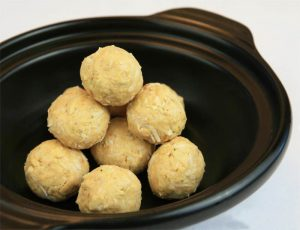 Diabetic Snack: Peanut Butter Protein Balls
