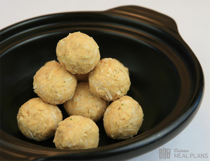 Peanut Butter Protein Balls | Diabetes Meal Plans