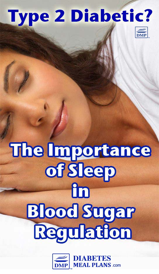 Sleep and blood sugar Levels