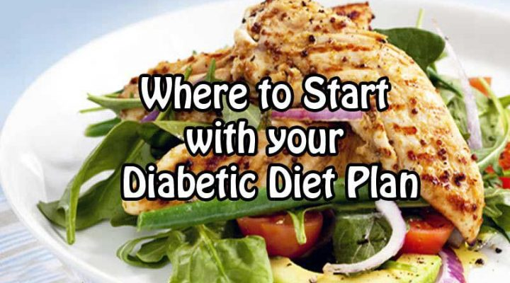 Where to Start with your Diabetic Diet Plan : Practical tips on what to cut first and how to do it