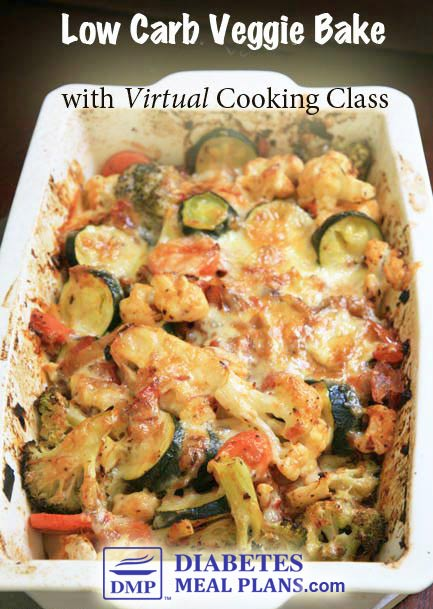 Low Carb Veggie Bake