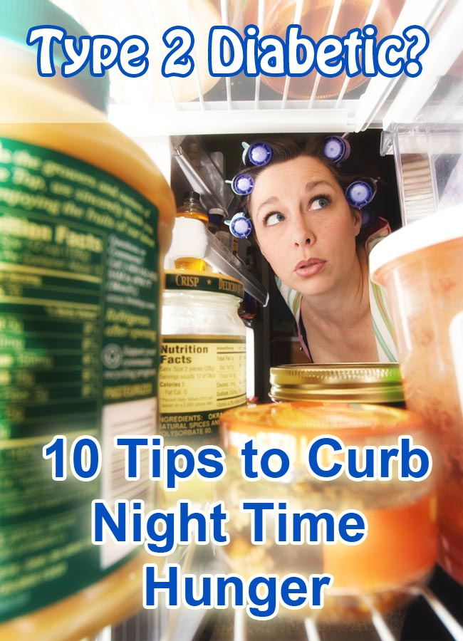 How to curb hunger at night