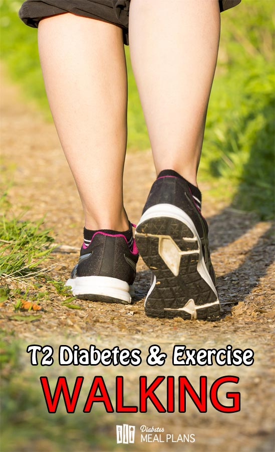 Type 2 Diabetes and Exercise: Walking and it's benefits