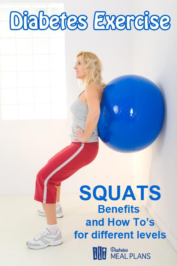 Diabetes Exercise: Squats Benefits and How To