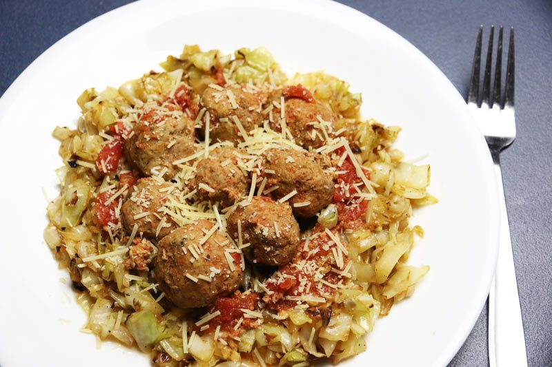Carb free turkey meatballs
