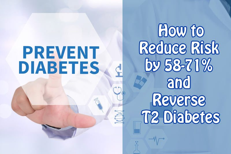 Type 2 Diabetes Prevention: How to Reduce Risk by 58-71% and Reverse Diabetes
