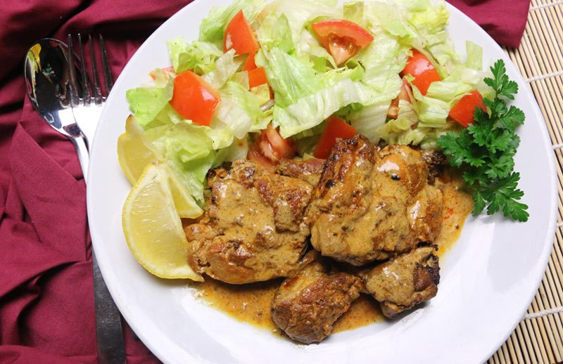 Tandoori Slow Cooked Chicken