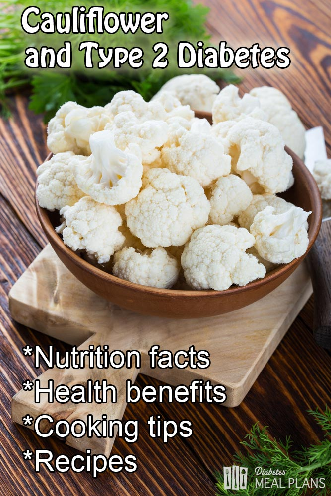 Cauliflower and type 2 diabetes