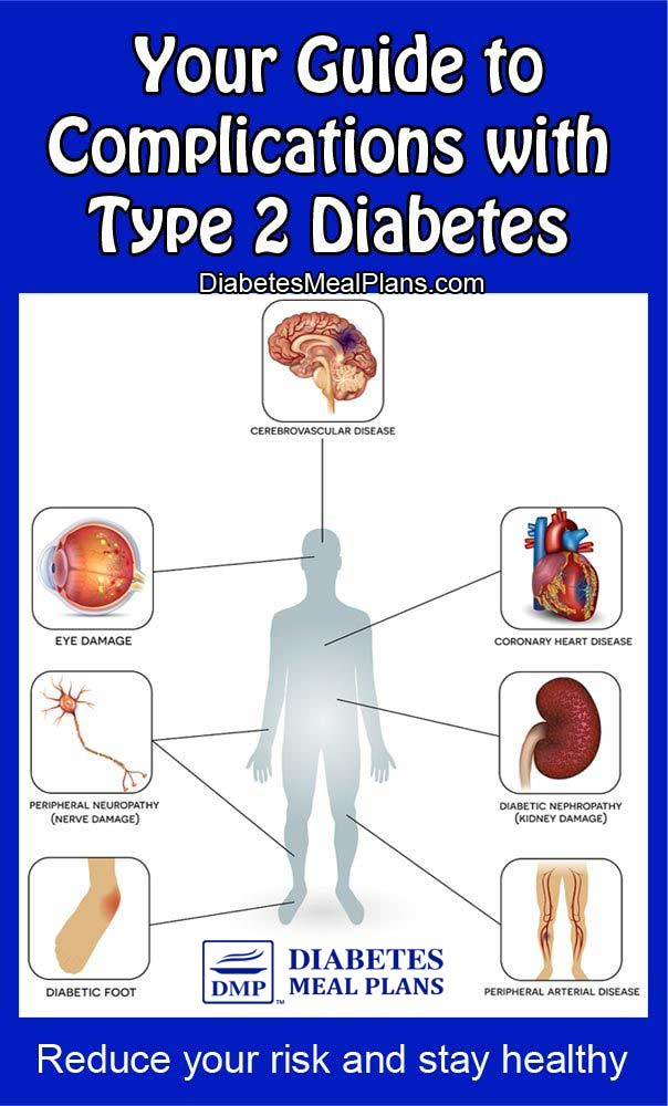Your guide to complications with type 2 diabetes