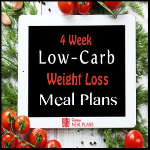4 Wk Weight Loss Meal Plan