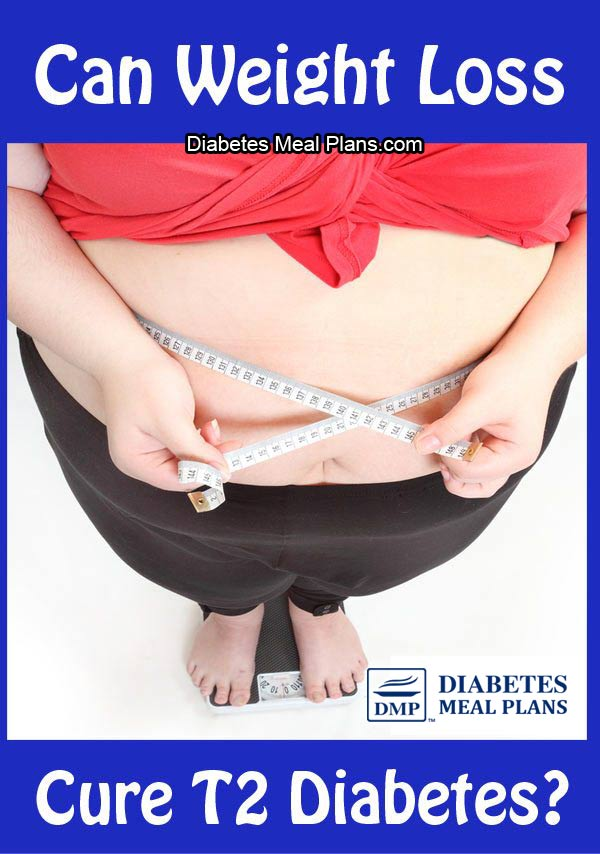Can weight loss cure type 2 diabetes?