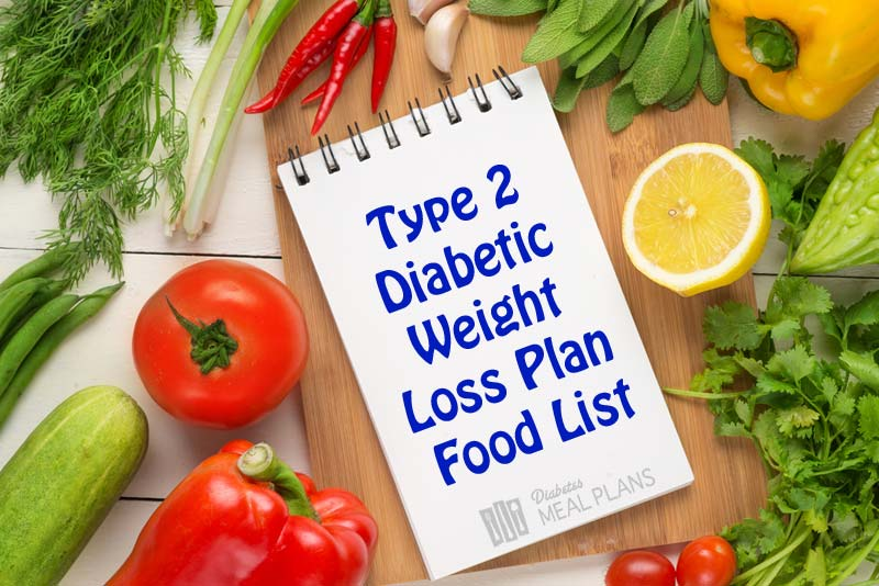 Type 2 Diabetic Weight Loss Plan Food List