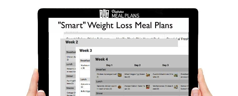 4 Week Diabetic Weight Loss Plan