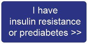 I'm prediabetic