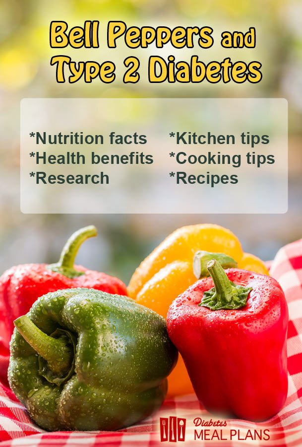 Facts about Bell Pepper and Type 2 Diabetes