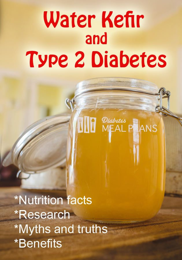 Water kefir and diabetes