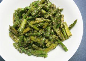 Pesto Asparagus Salad