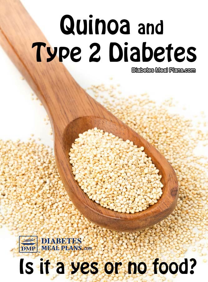 Quinoa and type 2 diabetes