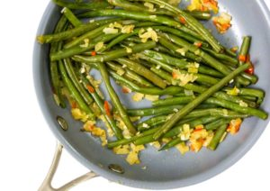 Onion Chili Green Beans