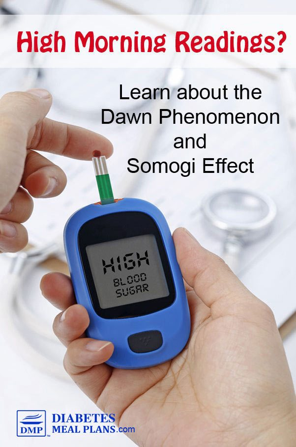 The Dawn Phenomenon and Somogi Effect in Diabetes