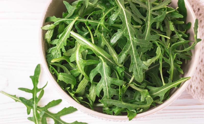 Arugula (Rocket) and Type 2 Diabetes